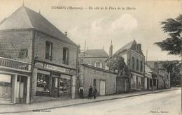 GORRON PLACE DE LA MAIRIE COMMERCE BAZAR F. DOISNEAU MENUISERIE 53 - Gorron