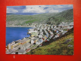 Hammerfest.View Of The Town And The Findus Factories - Norway