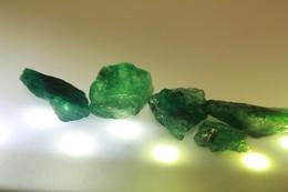 Smeraldo Colombia  (6 Pezzi) Ct. 50.01 - Provenienza Colombia - Smeraldo