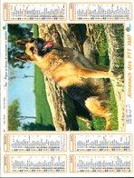 # - Almanach Des PTT 1987 - Editeur Oller - Intérieur Gironde - Calendars