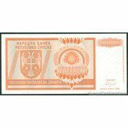 TWN - BOSNIA-HERZEGOVINA 147a - 1000000000 1.000.000.000 Dinara 1993 Prefix A UNC - Bosnie-Herzegovine