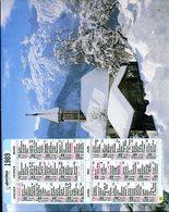 # - Almanach Malin 1988 - Editeur Oberthur - Intérieur Gironde - Calendriers
