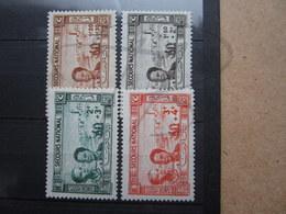 VEND BEAUX TIMBRES DE TUNISIE N° 245 - 248 , X !!! - Tunisie (1888-1955)