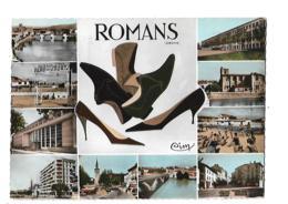 Romans - Drôme - Multivues -  Chaussures - Circulé 196? - Romans Sur Isere