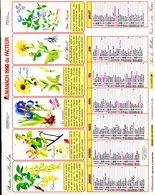 # - Almanach 1990 Du Facteur - Editeur Jean Lavigne - Intérieur Gironde - Calendars