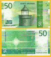 Norvege NORWAY Billet 50 KRONER 2017 ( 2018 ) NOUVEAU NEW NEUF UNC - Norvège