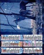 # - Almanach Du Facteur 1991 - Oberthur - Intérieur Gironde - Big : 1991-00