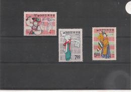 CORÉE DU SUD Folklore Année 1967 N°Y/T : 454/56** 462/64** Et  486/87** Côte : 31,25 € - Corée Du Sud