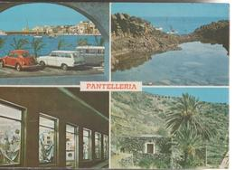 PANTELLERIA VEDUTE  PANORAMA .VIAGGIATA--1970-F.G.-N.M.76 - Trapani