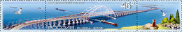 Russia 2018. Crimean Bridge (Fauna, Transport, Ships, Train) Mih.2620 Mnh** - 1992-.... Fédération