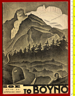 """B-32677 Greece 1937. Magazine """"The Mountain"""" (for Climbers). - Livres, BD, Revues"""