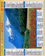 # - Almanach Du Facteur 1998 - Editeur Lavigne - Intérieur Gironde - Big : 1991-00
