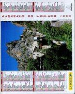 # - Almanach Du Facteur 1998 - Editeur Oberthur - Intérieur Gironde - Calendriers