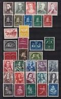 Nederland - Selectie Zegels - 7 Series -  MH - NVPH Zie Beschrijving - Verzamelingen (zonder Album)
