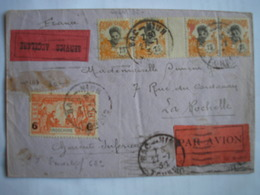 INDOCHINE - Lettre En Service Accéléré De Bac-Ninh Du 27/7/31 Pour La Rochelle Le 12/8/31 - Bel Affranchissement - Indocina (1889-1945)