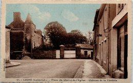 44 - LIGNE --  Place Du Chevet De L'Eglise - Ligné