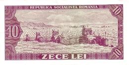 ROMANIA P.  94a 10 L 1966 AUNC - Roumanie