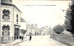 44 - LIGNE -- Arrivée Par La Route De Nantes - Ligné