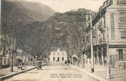 CPA 73 Savoie Moutiers L'Avenue De La Gare - Société Générale - Non Circulée - Moutiers
