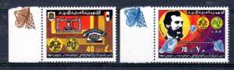 10.3.1976; 100 Jahre Telefon, Mi-Nr. 513 + 514 **/ MNH, Los 50648 - Libyen