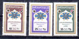 4.3.1975; Congrès Du Travail Arabe, YT 533 - 535; Neuf **, Lot 50641 - Libye