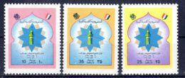 16.4.1974; Université De Benghazi, YT 503 - 505; Neuf **, Lot 50639 - Libye