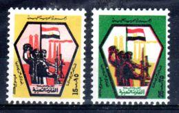 7.10.1973; Milice Libyens, YT 479 + 480; Neuf **, Lot 50637 - Libye