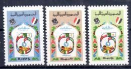 1.3.1974; 12e Int. Foire De Tripoli, YT 508 - 510; Neuf **, Lot 50635 - Libye