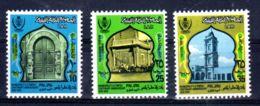 12.9.1973; Millénaire De La Ville Tripolis; YT 476 - 478; Neuf **, Lot 50633 - Libye