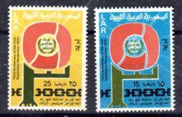 28.9.1972; 3e Anniversaire De La Révolution; YT 427 + 428; Neuf **, Lot 50623 - Libye