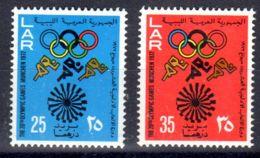26.8.1972; Jeux Olympiques à Munich; YT 456 + 457; Neuf **, Lot 50622 - Libye