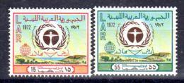 15.8..1972; UNO-Umweltschutzkonferenz, Oslo; YT 471 + 473; Neuf **, Lot 50621 - Libye