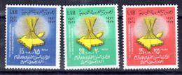 17.4.1972; Anniversaire De La Fédération Des Républiques Arabes; YT 435 - 437; Neuf **, Lot 50620 - Libye