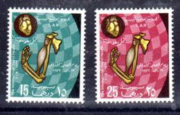 7.4.1972;; Journée De La Santé; YT 433 + 434, Neuf **, Lot 50618 - Libye