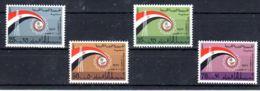 1.3.1972;; 10. Int. Foire De Tripoli; YT 429 - 432, Neuf **, Lot 50617 - Libye