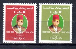12.1.1972;; Ahmed Gnaba; YT 419 + 420, Neuf **, Lot 50616 - Libye
