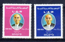 8.10..1971; Ibrahim Usta Omar; YT 402 + 403, Neuf **, Lot 50612 - Libye