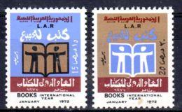 1.1.1972; Année De Livre; YT 417 + 418, Neuf **, Lot 50614 - Libye