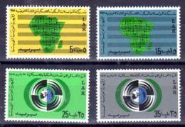 1.1.1972; Réseau Panafricain; YT 391 - 394, Neuf **, Lot 50609 - Libye