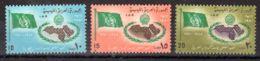 22.3.1970;; 25e Anniversaire De La Ligue Arabe; YT 356 - 358 Neuf **, Lot 50605 - Libye