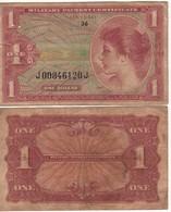 USA  MPC  1 Dollars  Serie 641   PM61     (ND 1965)  Vietnam War - Certificats De Paiement Militaires (1946-1973)
