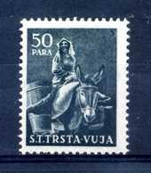 1951 STT VUJNA N.35 * - Mint/hinged