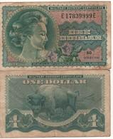 USA  MPC  1 Dollars  Serie 692   PM95    (ND 1970)  Vietnam War - Certificats De Paiement Militaires (1946-1973)