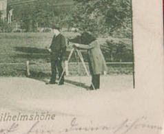 ERFURT : FOTOGRAPH  WILHELMSHÔHE  2 Scans. - Erfurt