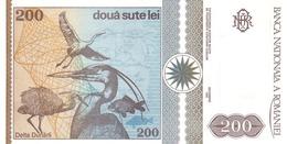 ROMANIA P. 100 200 L 1992 UNC - Roumanie