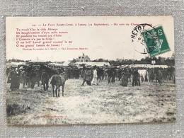 Lessay. La Foire Sainte Croix à Lessay. Un Coin Du Champ De Foire - France