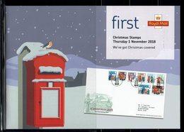 ROYAL MAIL COMMUNICATION STAMPS TIMBRES EMISSION CHRISTMAS NOEL MAILBOX BOÎTE AUX LETTRES - Navidad