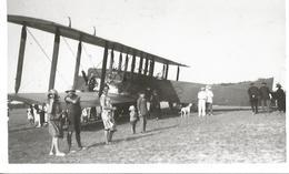 PHOTO AVION FARMAN F60 EN ROUTE VERS MADAGASCAR BANGUI 1938  AVEC CURIEUX 14X9CM - 1919-1938: Between Wars
