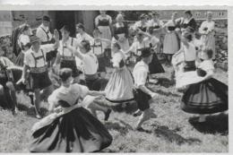 """AK 0083  Trachtentanz-Gruppe - Salzburger Gebirgs-Verein """" Alpina ) Um 1950 - Tänze"""