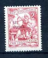 1953 STT VUJNA N.75 * - Mint/hinged